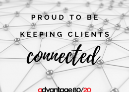 Proud to be keeping clients connected